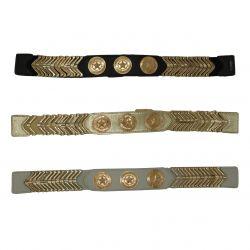 Women stretch star belt, FY16