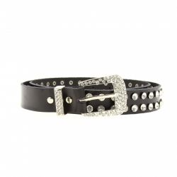 leather belt, rhinestone TS5